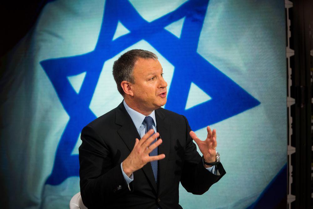 Erel Margalit, founder of Jerusalem Venture Partners, speaks during a Bloomberg Television interview in New York in 2016.