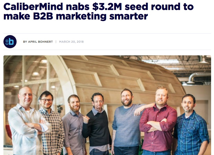 CaliberMind nabs $3.2M seed round to make B2B marketing smarter